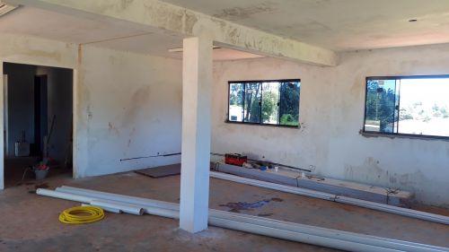 Construção da Nova Capela Mortuária no Bairro dos Franças