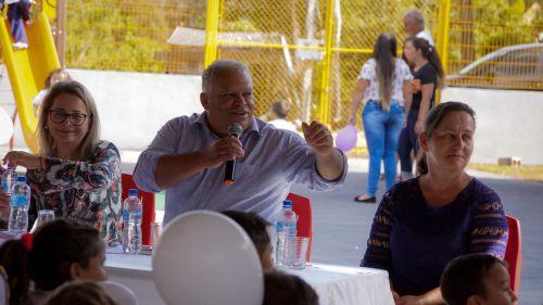 INAUGURAÇÃO ESCOLA MUNICIPAL DO CAMPO PROFESSOR ELIAS ABRAÃO - NATINGUI