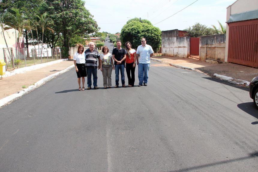 Prefeitura conclui recapeamento asfáltico em ruas e avenidas