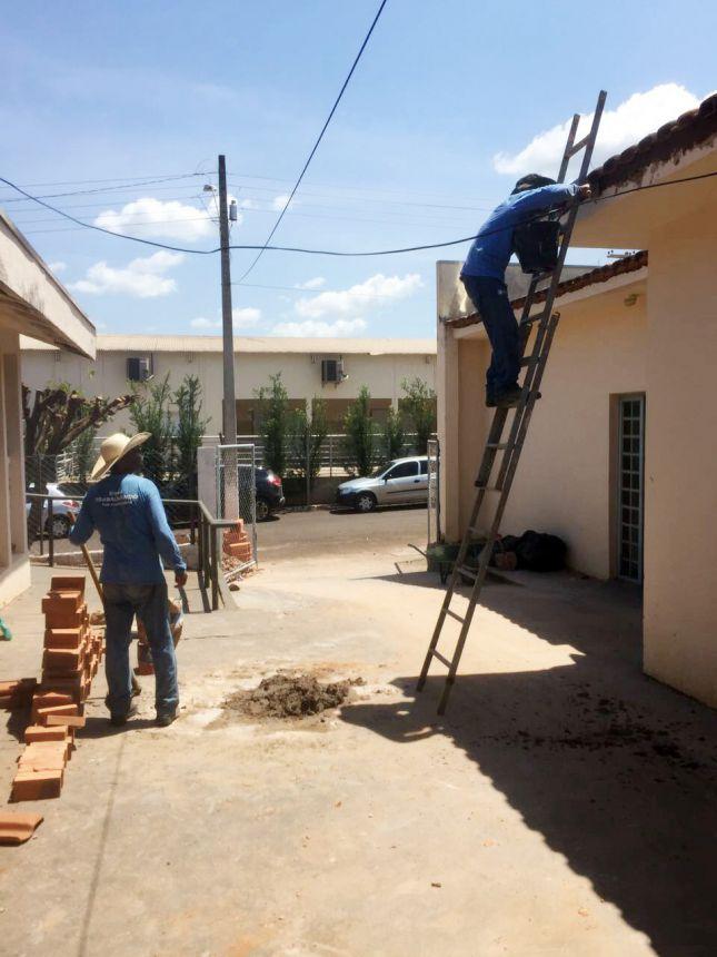 Diversas manutenções estão sendo realizadas
