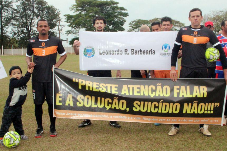 """Realizada abertura do 5º Campeonato """"Jorginho"""" realizado pela Prefeitura de Mariápolis"""