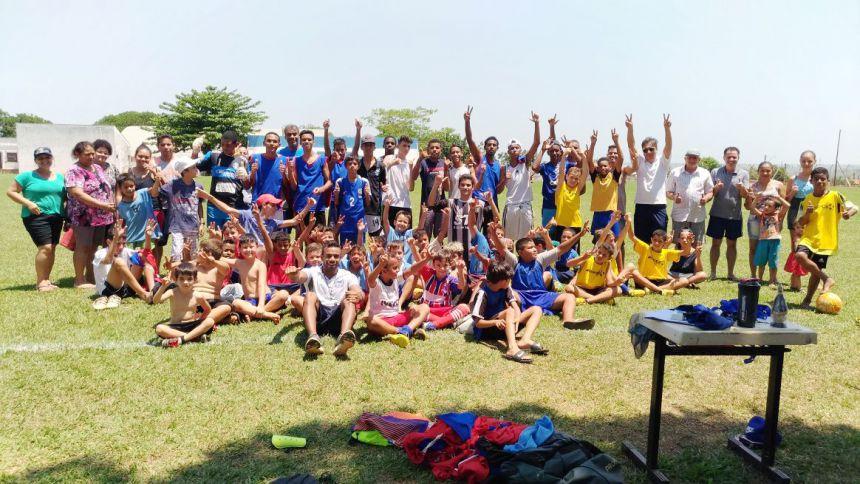 Prefeitura realiza torneio em comemoração ao Dia das Crianças