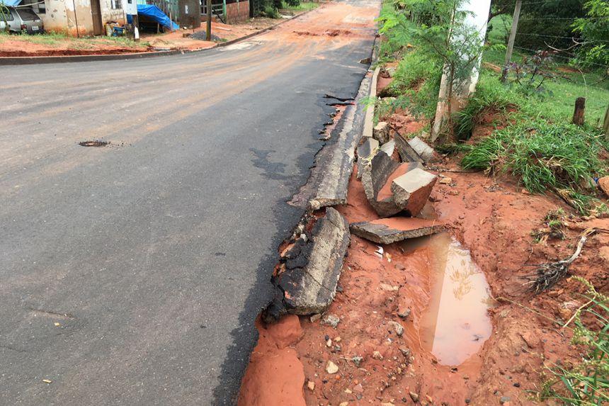 Chuvas castigam município de Mariápolis
