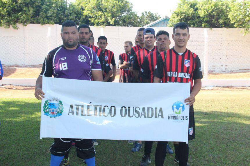Equipe Atlético e Ousadia