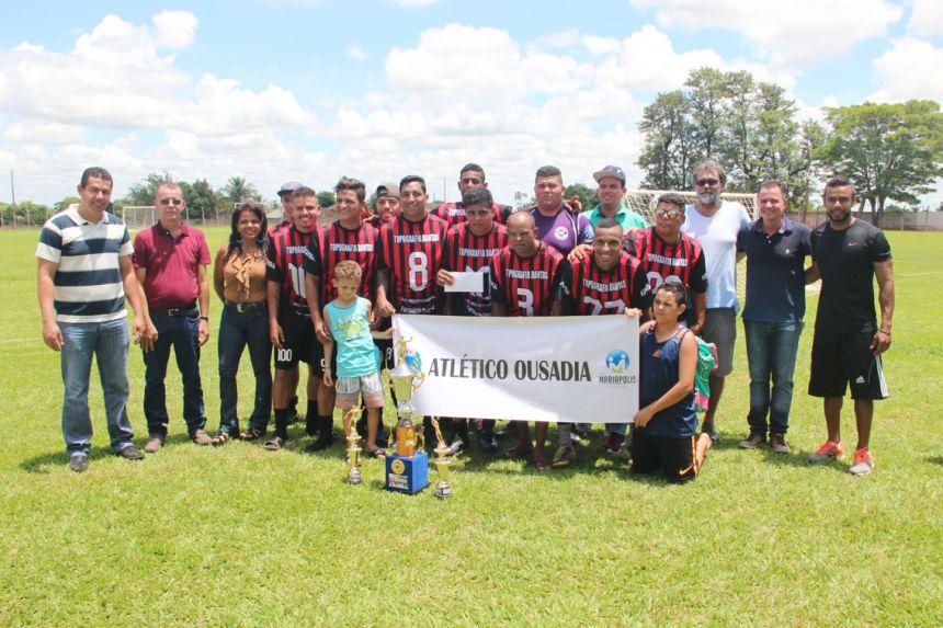 Equipe vencedora foi Atlético Ousadia