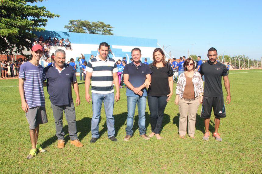 Autoridades marcaram presença na final do campeonato