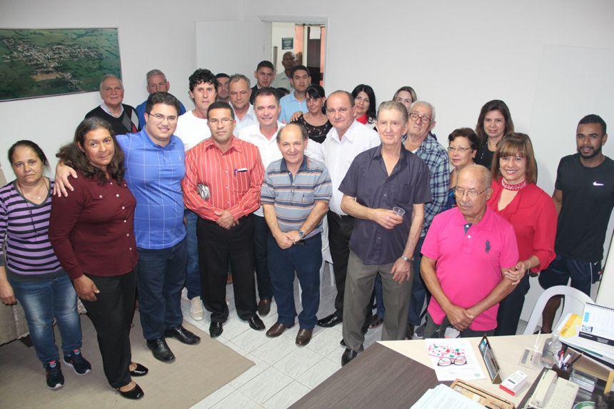 Val Dantas recebe deputados Missionário José Olímpio e Rodrigo Moraes: mais recursos para Mariápolis