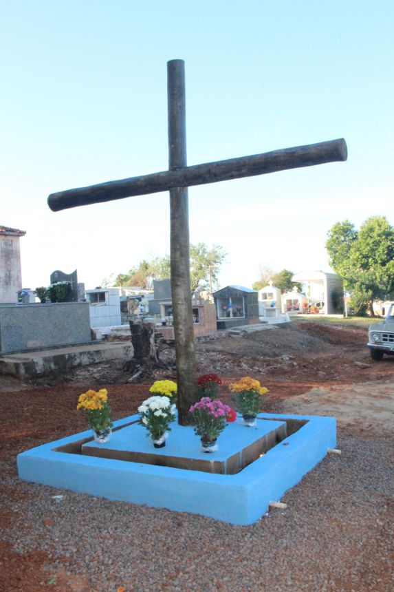 Cemitério de Mariápolis recebe melhoria e novo visual