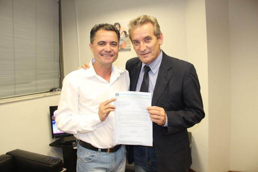 Prefeito de Mariápolis reivindica emenda ao deputado Ed Thomas