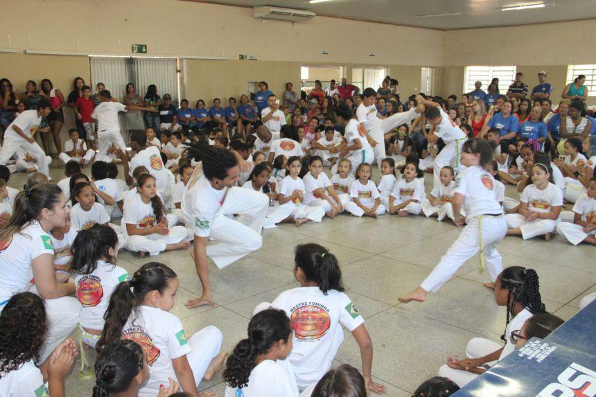 Evento de capoeira ocorreu com sucesso em Mariápolis