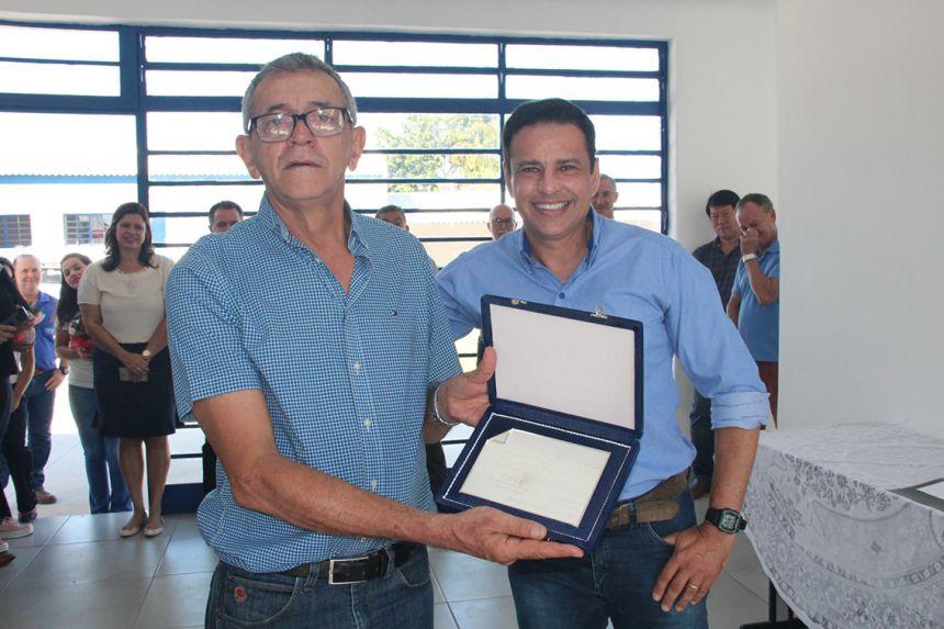 Carlos Alberto também foi homenageado