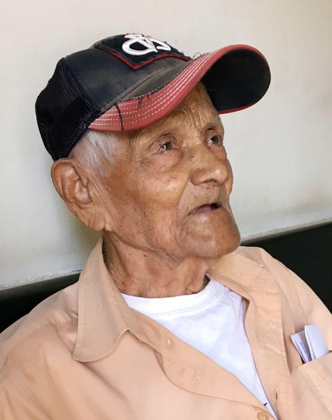 Pioneiro de Mariápolis Seu Santinho completa 101 anos
