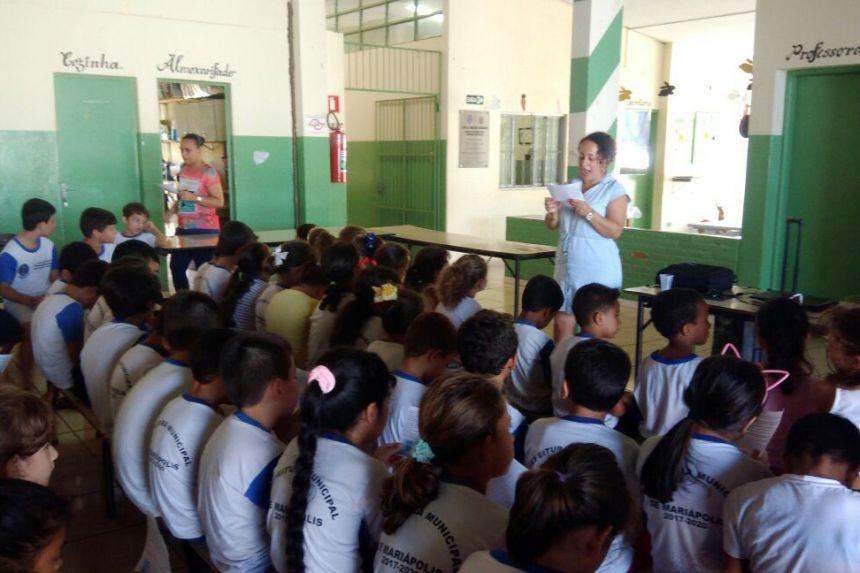 Escola Nelson Magnani promove atividades no Dia da Água