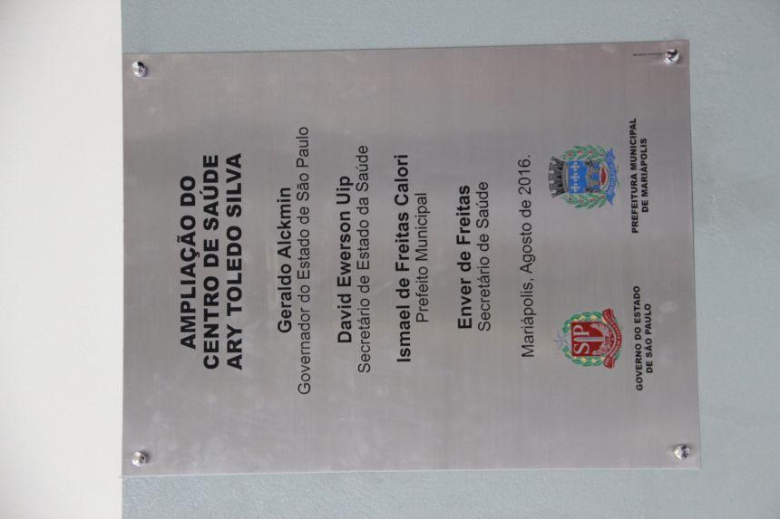 Ampliação do centro de saúde é inaugurada na cidade
