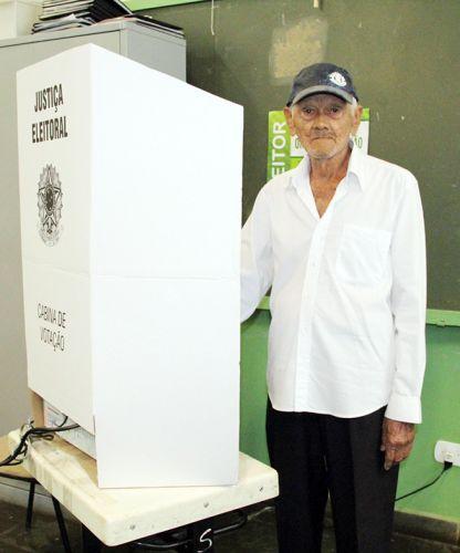Pioneiro Seu Santinho, completou 100 anos no dia 22