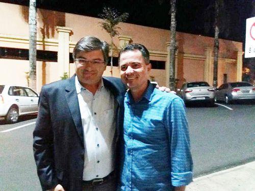 Prefeito de Marília, Daniel e o prefeito Val Dantas