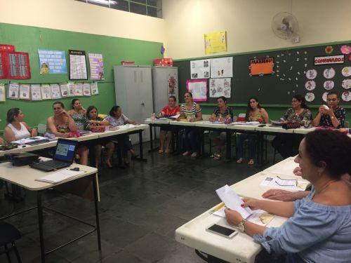 Palestra para os Professores sobre o Programa Município Verde