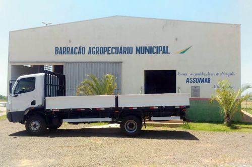 Caminhão 0 km será utilizado aos produtores da Assomar