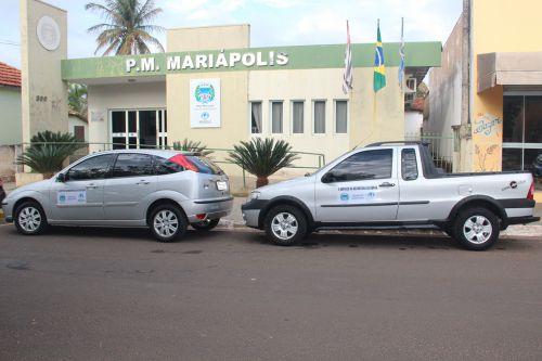 Veículos adquiridos com recurso próprio: Ford Focus e o Fiat Strada