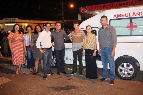 Prefeito conquista três veículos 0 km para o setor da saúde de Mariápolis