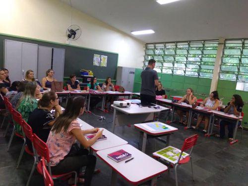 Professores e gestores participaram de capacitação da Netbil