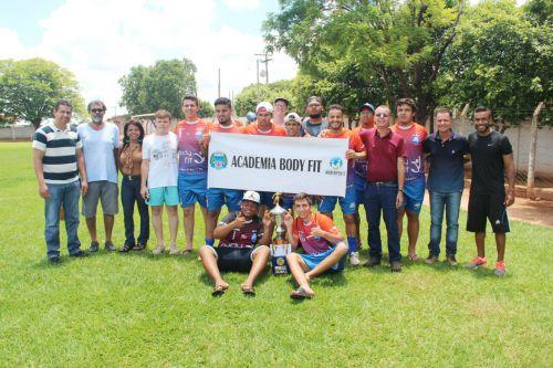 Academia Body Fit conquistou o 3º lugar