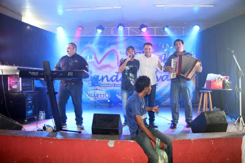 Musical Banda Nova com o prefeito Val Dantas