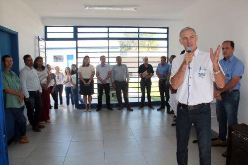 Pelozo teceu agradecimentos às autoridades e participantes