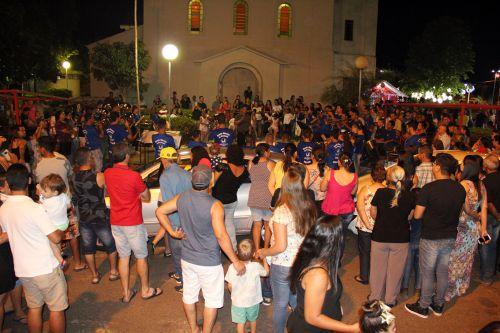 Público prestigia Banda Marcial de Mariápolis