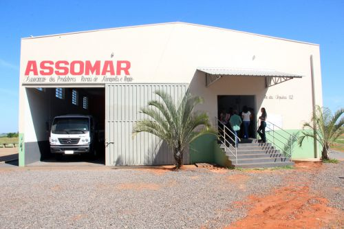 Sede da ASSOMAR recebe infraestrutura e equipamentos