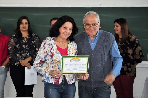 Mariápolis participa da formatura da primeira turma do Projeto Inclusão Digital para Melhor Idade