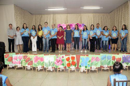 Prefeito Val Dantas, vice Herminia, primeira-dama Rose Barbosa e demais autoridades participaram do evento