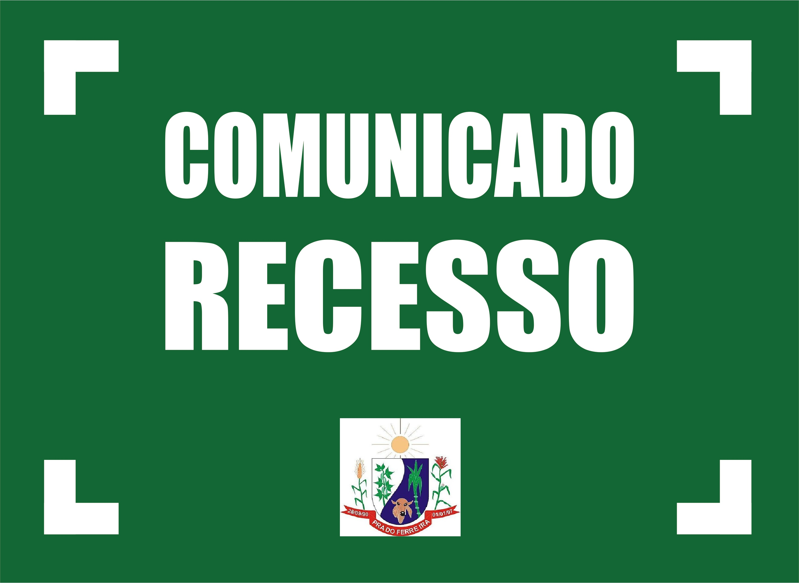 COMUNICADO RECESSO