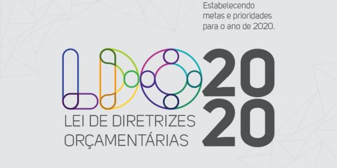 CONVITE AUDIÊNCIA PÚBLICA - LDO 2020
