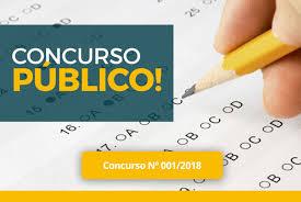 EDITAL DE CONCURSO PÚBLICO Nº 001/2018