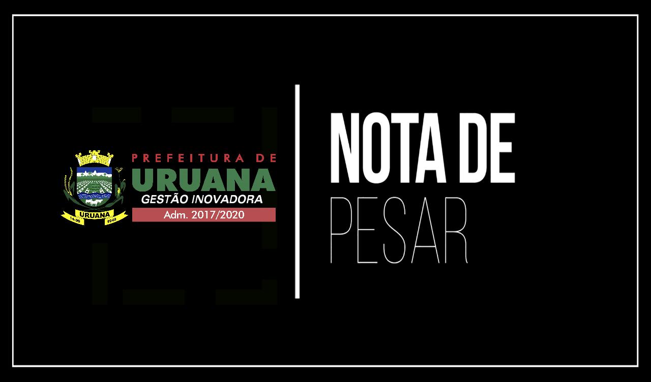 PREFEITURA EMITE NOTA DE PESAR PARA MÃE DE EX-PRESIDENTE