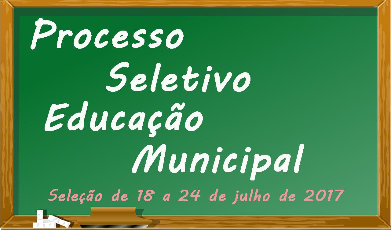 PREFEITURA DIVULGA EDITAL DE PROCESSO SELETIVO SIMPLIFICADO