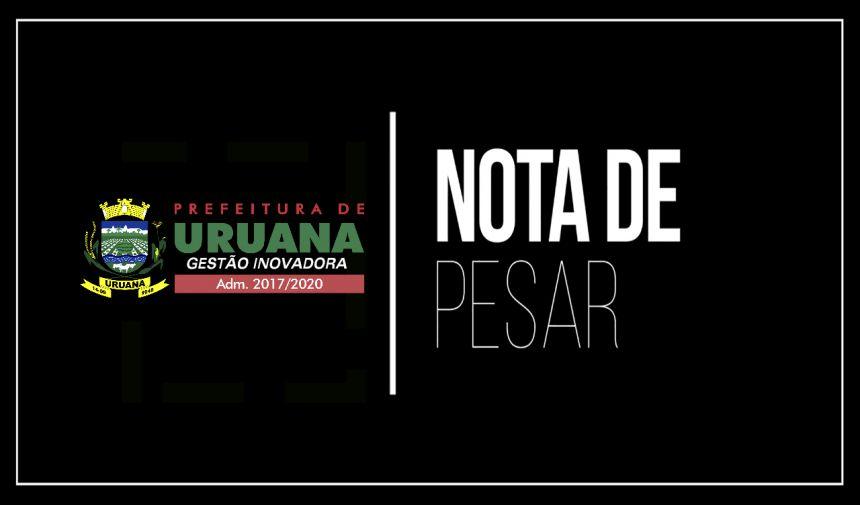 PREFEITURA EMITE NOTA DE PESAR APÓS FALECIMENTO DE SERVIDOR MUNICIPAL