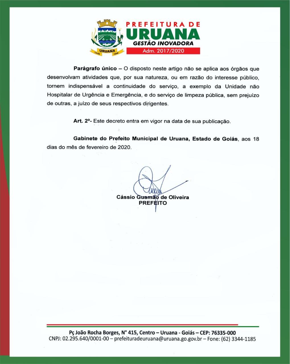 Decreto N 043