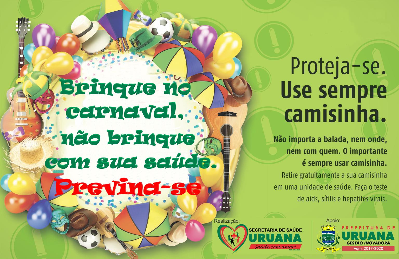 CAMPANHA REFORÇA IMPORTÂNCIA DO SEXO SEGURO NO CARNAVAL