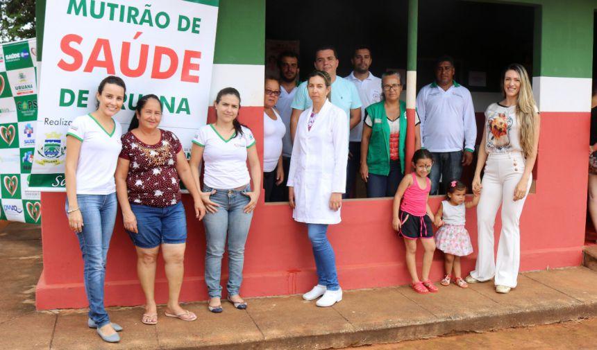 MUTIRÃO DE SERVIÇOS DESEMBARCA NO POVOADO DA LAGOA