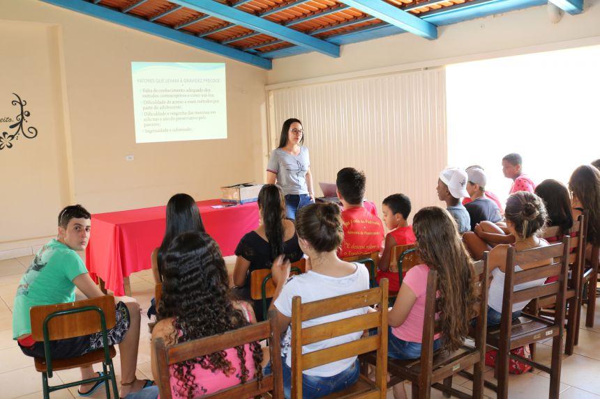 """""""Semana Nacional de Prevenção da Gravidez na Adolescência"""""""