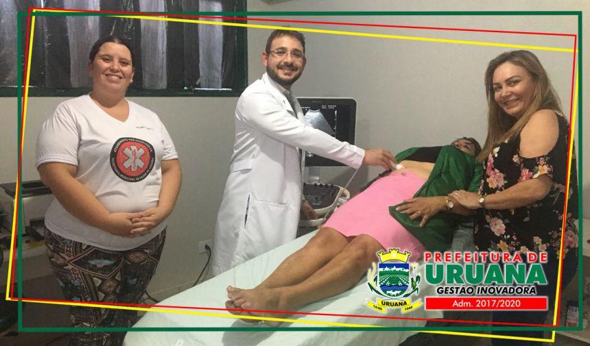 Secretaria de saúde disponibiliza exames gratuitos de ultrassom na unidade de Saúde Ery Luiz Brandão