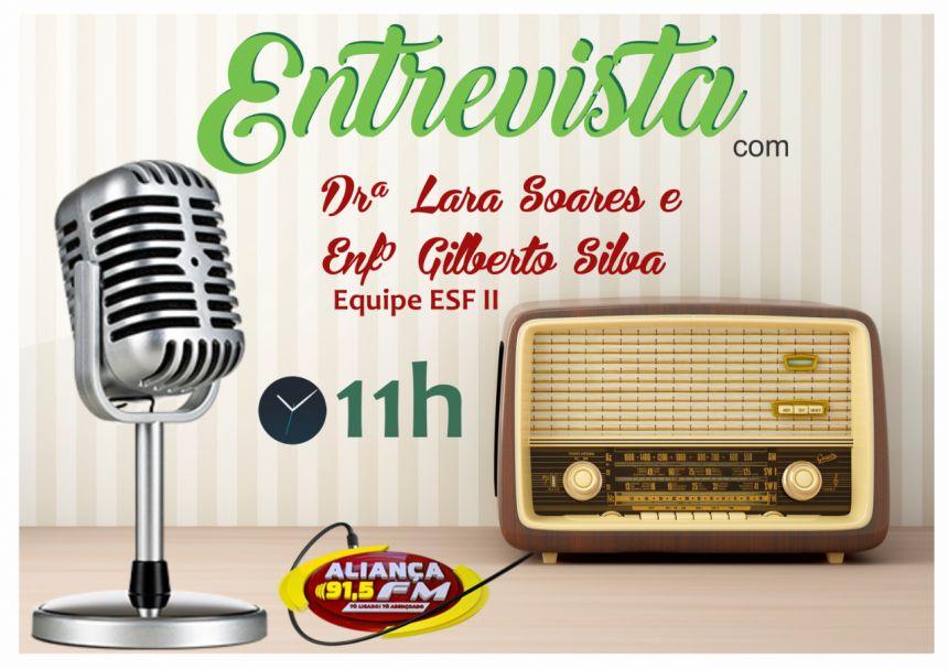 Entrevista na Rádio aliança 91,5fm