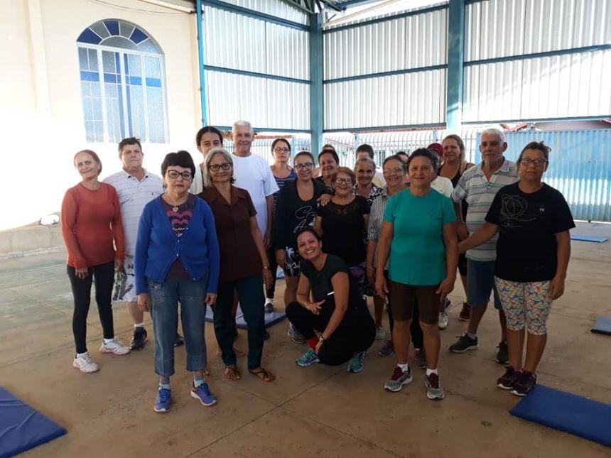 Sexta-feira é dia de Grupo Coluna, promovido pela equipe do NASF!