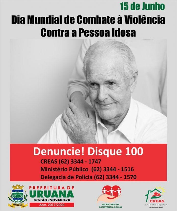 Combate à violência contra a pessoa idosa!