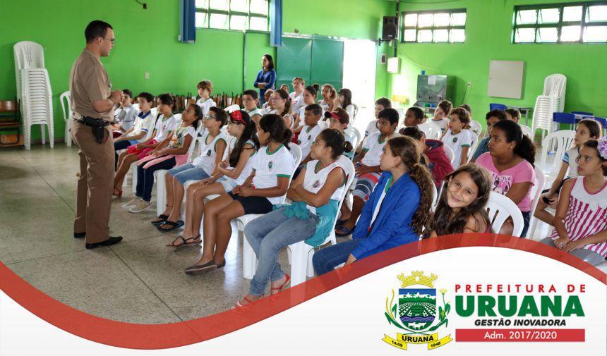 PROGRAMA DE EDUCAÇÃO DE VIDA SAUDÁVEL COMEÇA NA REDE DE ENSINO