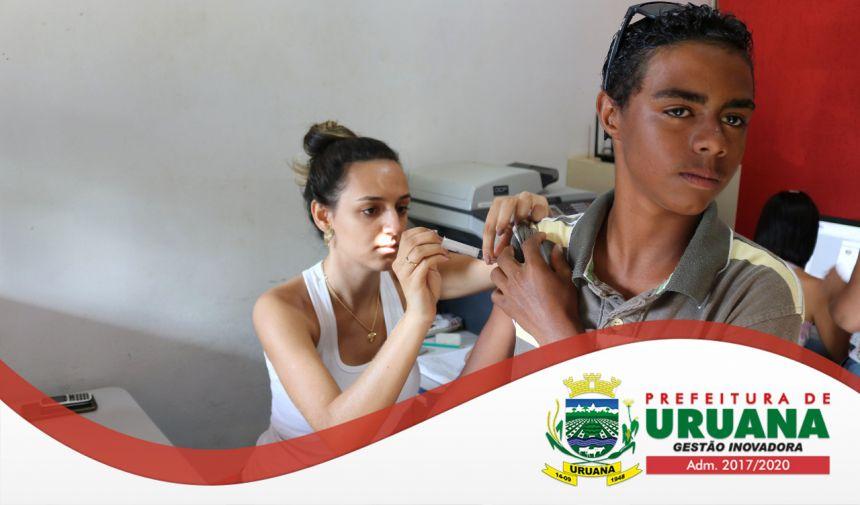 JOVENS DA REDE MUNICIPAL DE ENSINO SÃO PÚBLICO-ALVO DE CAMPANHA