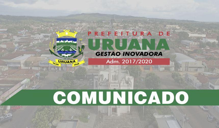 SECRETARIA ALTERA HORÁRIO DE ATENDIMENTO NESTA QUINTA-FEIRA (1º)