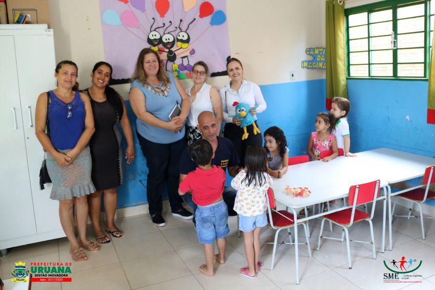 SECRETARIA MUNICIPAL DE EDUCAÇÃO RECEBE EQUIPE DO SISTEMA ETAPA PÚBLICO